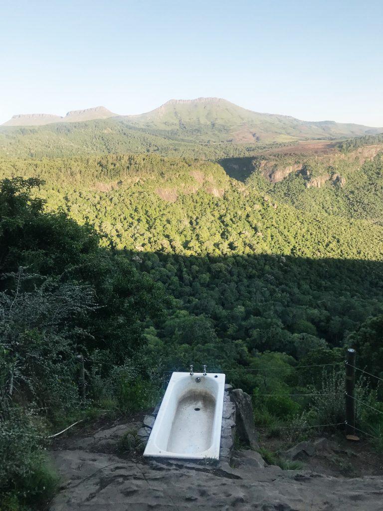 clifftop bath