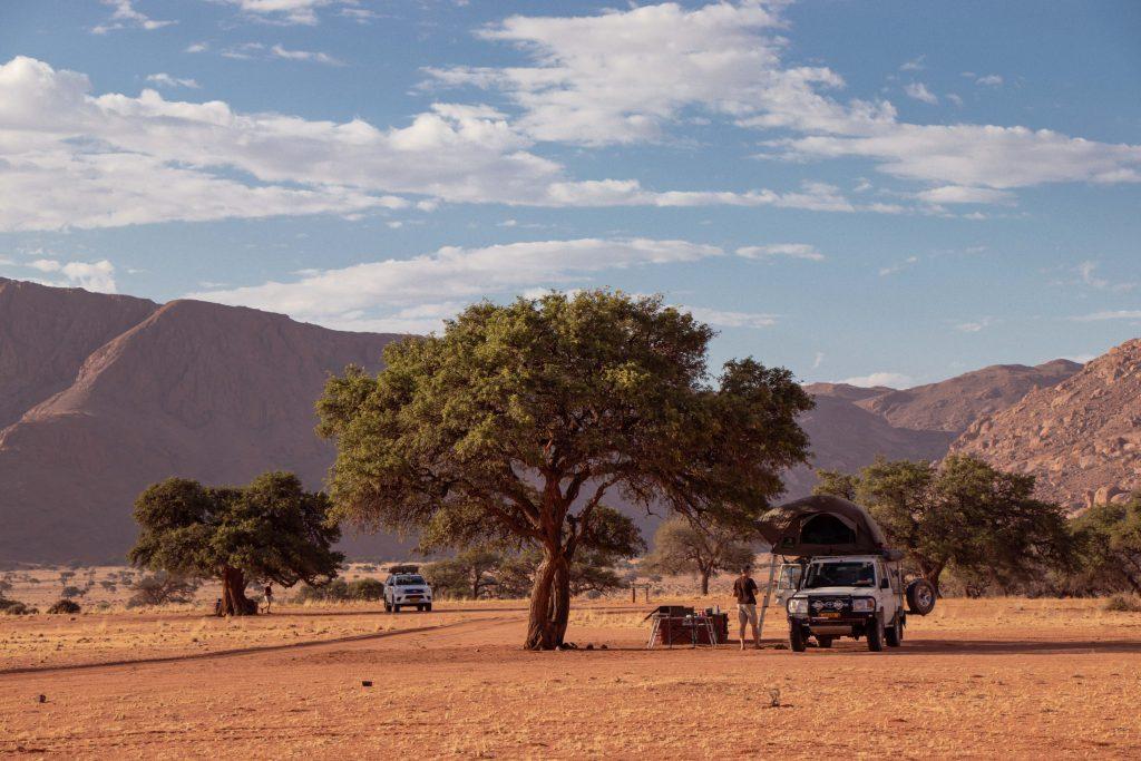 Campsites at Namtib